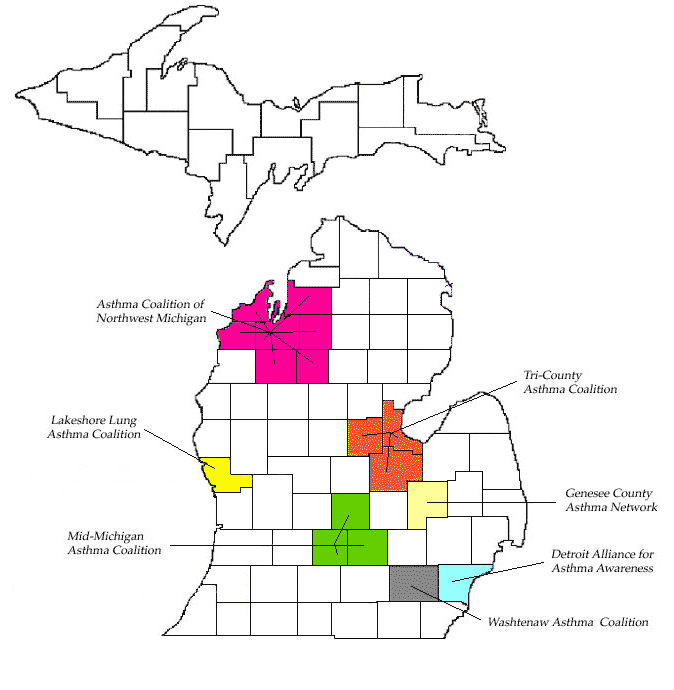 michigan asthma coalitions