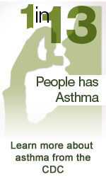 One in 13 Americans has Asthma